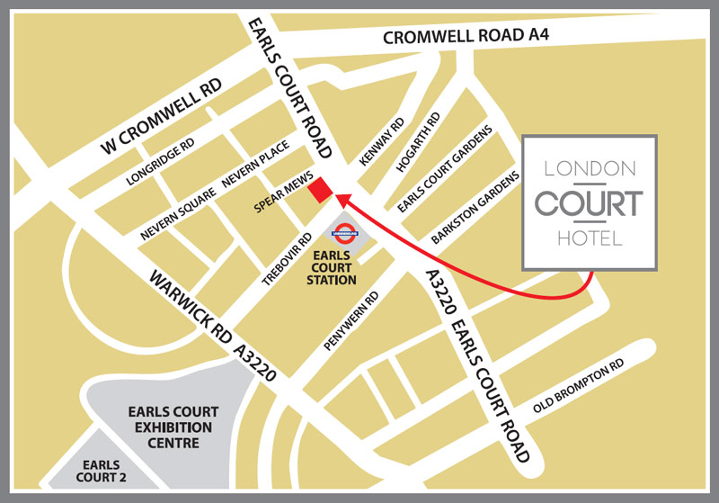 London Court Hotel - Where is london located